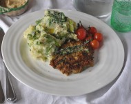 herb crusted porkchops