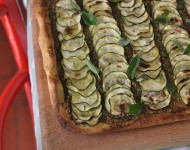 Courgette Pizza