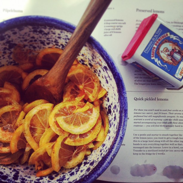 Ottolenghi's Quick Pickled Lemons are perfect if you want your pickles sooner rather than later