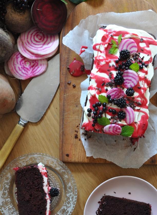beetroot cake 4