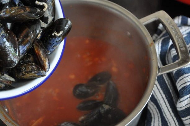 MUSSELS INTO POT copy